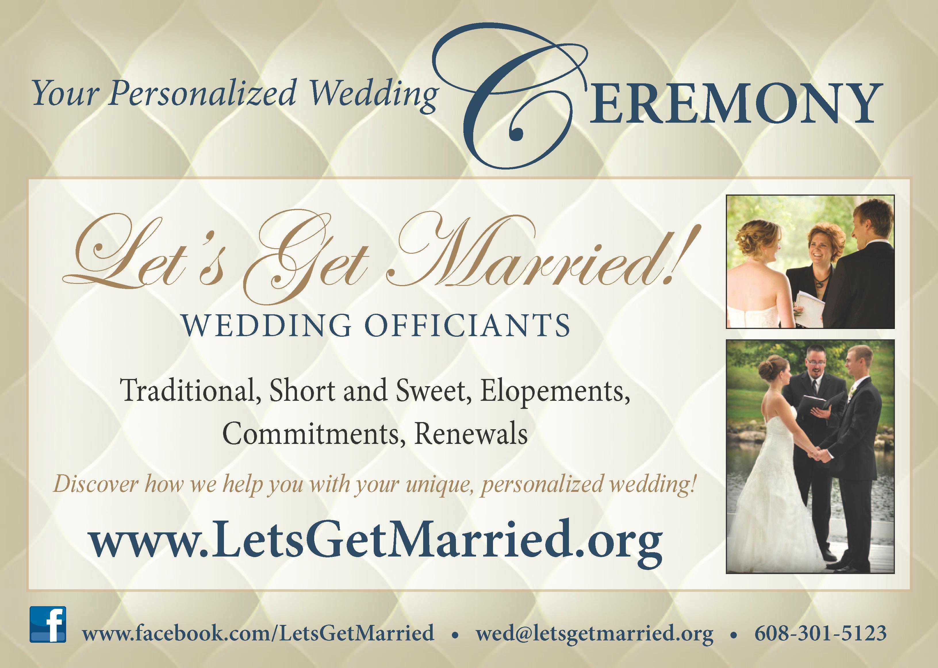 Madison Wedding Officiants